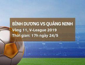 Bình Dương vs Quảng Ninh: Kèo bóng đá Dafabet ngày 24/5 dafabet