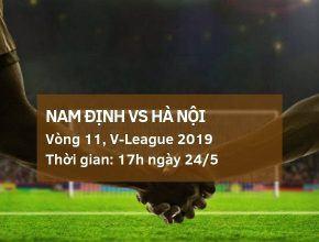 Nam Định vs Hà Nội: Kèo bóng đá Dafabet ngày 24/5