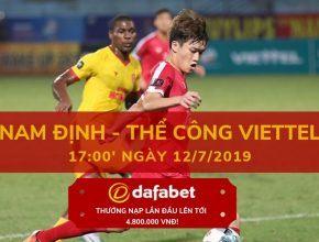 Nam Định vs Viettel FC dafabet