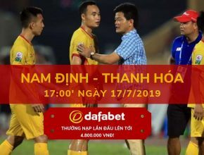 V-League 2019 Vòng 16 Nam Định vs Thanh Hóa dafabet