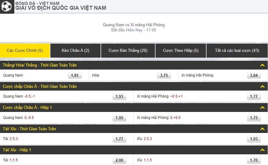 V-League 2019 Vòng 16 Quảng Nam vs Hải Phòng 3