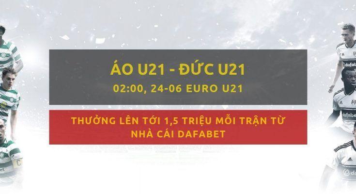 Áo U21 vs Đức U21