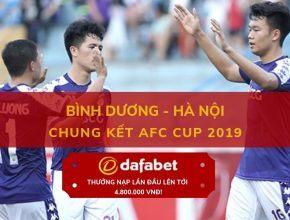AFC Bình Dương - Hà Nội FC dafabet