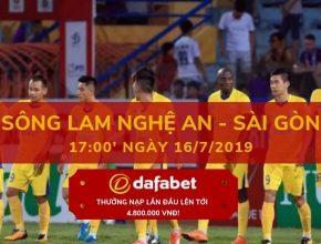 Sông Lam Nghệ An vs Sài Gòn dafabet