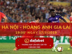 V-League 2019 Vòng 16 Hà Nội vs Hoàng Anh Gia Lai dafabet