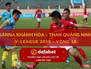 [V-League 2019, Vòng 18] Khánh Hòa vs Than Quảng Ninh 5