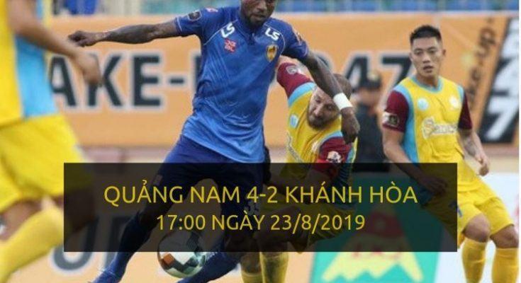 Quảng Nam 4-2 Khánh Hòa (Highlight V-League 2019)
