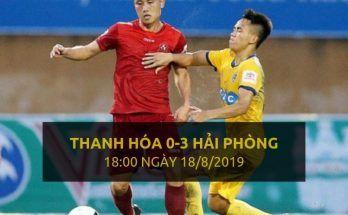 Thanh Hóa 0-3 Hải Phòng (Highlight - Dafabet)