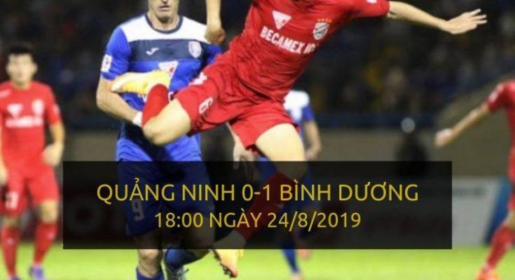 Quảng Ninh 0-1 Bình Dương (Highlight V-League 2019)