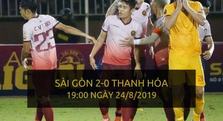 Sài Gòn 2-0 Thanh Hóa (Highlight V-League 2019)