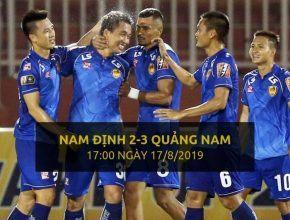 Nam Định 2-3 Quảng Nam (Highlight - Dafabet)