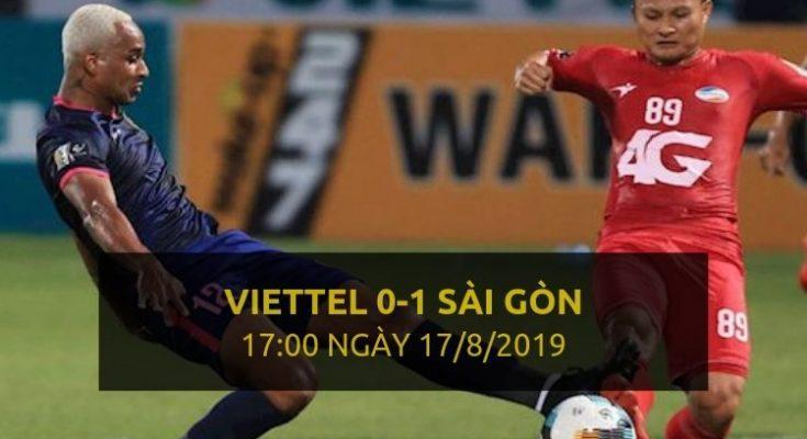 Thể Công Viettel 0-1 Sài Gòn (Highlight - Dafabet)