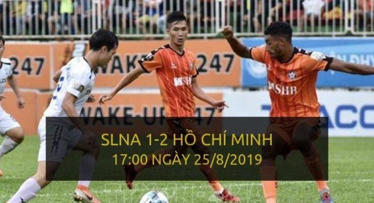 SLNA 1-2 Hồ Chí Minh (Highlight V-League 2019)
