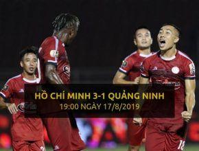 Hồ Chí Minh 3-1 Quảng Ninh (Highlight - Dafabet)