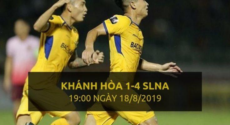 Khánh Hòa 1-4 SLNA (Highlight - Dafabet)