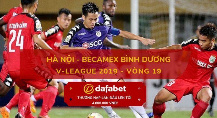 [V-League 2019, Vòng 19] Hà Nội FC vs Bình Dương 23