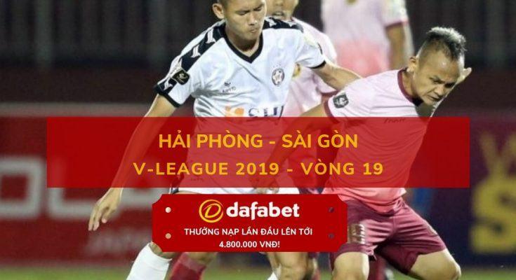 [V-League 2019, Vòng 19] Hải Phòng vs Sài Gòn 4