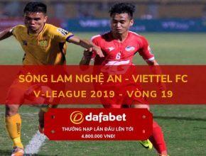 [V-League 2019, Vòng 19] SLNA vs Viettel 4