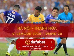 [V-League 2019, Vòng 20] Hà Nội vs Thanh Hóa 3