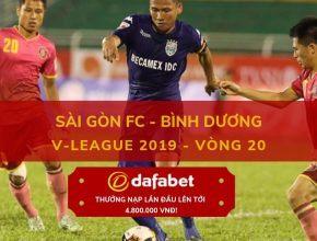 [V-League 2019, Vòng 20] Sài Gòn vs Bình Dương dafabet