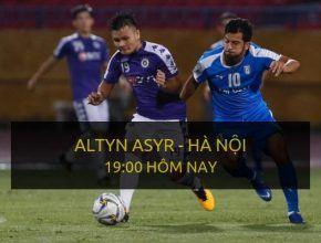 dafabet Link cược trực tiếp trận FC Altyn Asyr vs Hà Nội T&T (Lượt về Bán kết liên khu vực AFC Cup 2019)