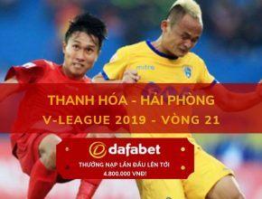 soi keo Thanh Hóa vs Hải Phòng