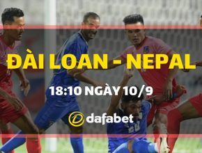 Đài Loan vs Nepal