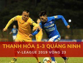Highlight: Thanh Hóa 1-3 Than Quảng Nam (V-League 2019 - Vòng 23)