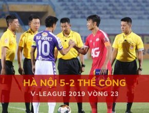 Highlight: Hà Nội 5-2 Viettel (V-League 2019 - Vòng 23)