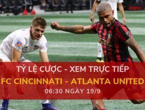 FC Cincinnati vs Atlanta United FC dafabet