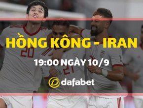 Dự đoán Hồng Kông vs Iran: Bảng C, VL World Cup 2022 Châu Á