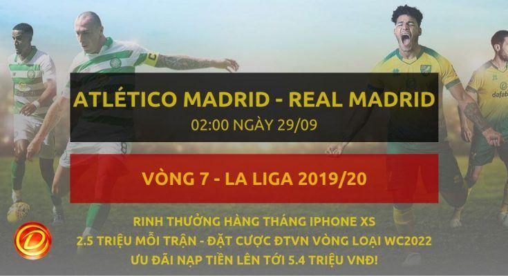 [La Liga] Atletico Madrid vs Real Madrid dafabet