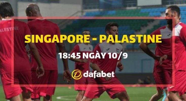 Singapore vs Palastine