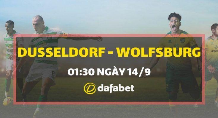 Trực tiếp Fortuna Dusseldorf vs VfL Wolfsburg