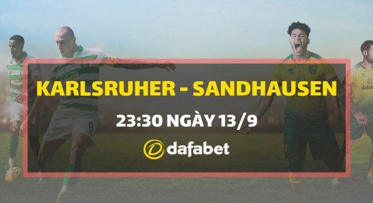 Trực tiếp Karlsruher SC vs Sandhausen - link đặt cược Dafabet