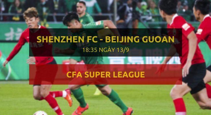 Trực tiếp Shenzhen vs Beijing Guoan - link đặt cược Dafabet