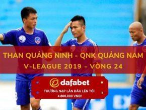 [V-League 2019, Vòng 24] Than Quảng Ninh vs Quảng Nam dafabet