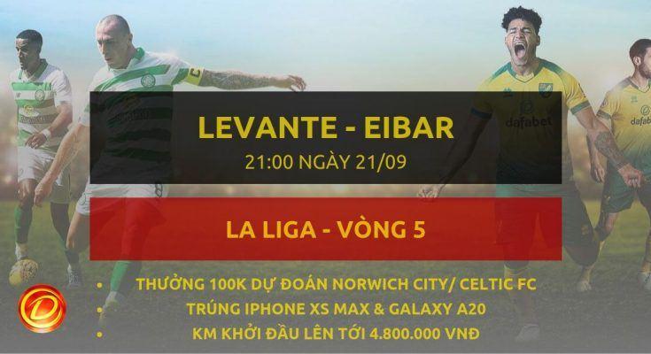 bong da tay ban nha [La Liga] Levante vs Eibar dafabet