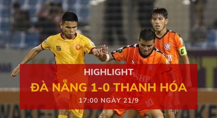highlight v-league-2019-vong-24-dafabetvietnam (Đà Nẵng 1-0 Thanh Hóa)