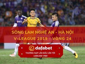 keo bong da dafabet [V-League 2019, Vòng 24] SLNA vs Hà Nội FC