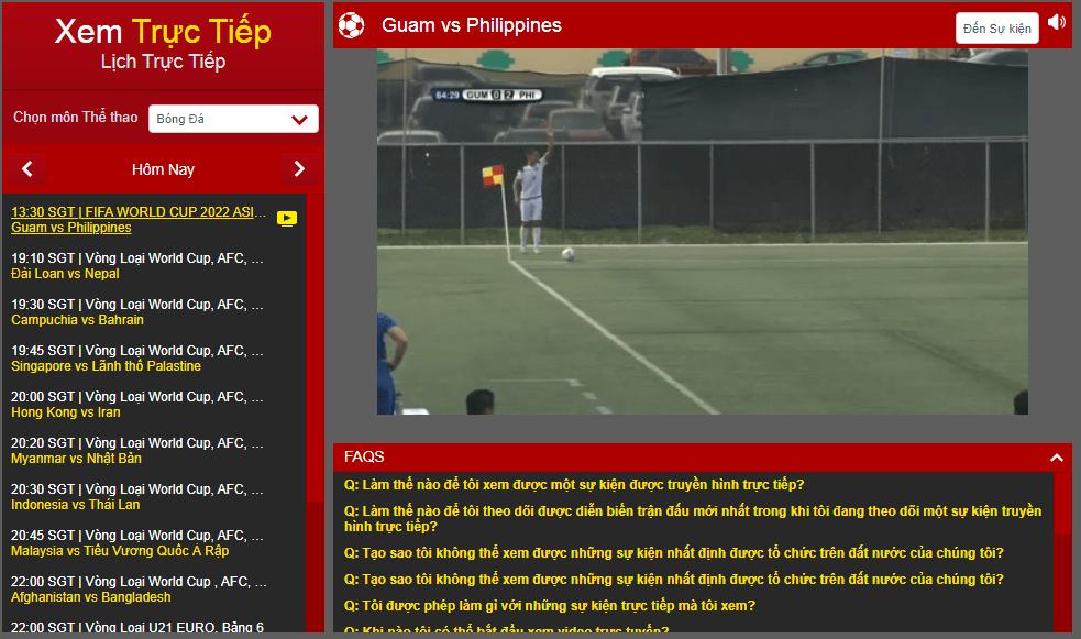 truc tiep dafabet bong da Vòng loại World Cup 2022