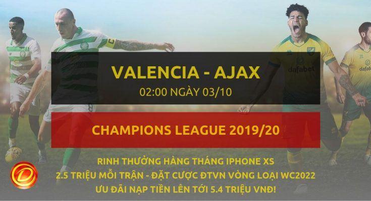 [Champions League] Valencia vs Ajax dafabet