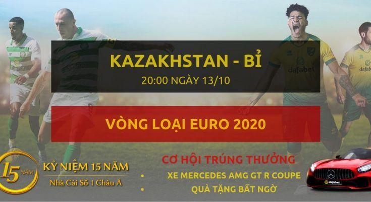 Kazakhstan - Bỉ -Vong loai Euro 2020-13-10