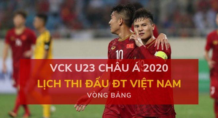 dafabet lich-thi-dau-dt-viet-nam-tai-vck-u23-chau-a-dien-ra-trong-thang-1-2020