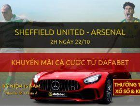 Soi kèo trực tiếp: Sheffield United - Arsenal (2h sáng 22/10)