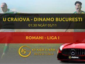 CS Universitatea Craiova - Dinamo Bucuresti (01h30 ngày 05/11)
