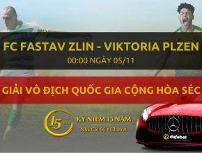 FC Fastav Zlin - Viktoria Plzen (00h00 ngày 05/11)