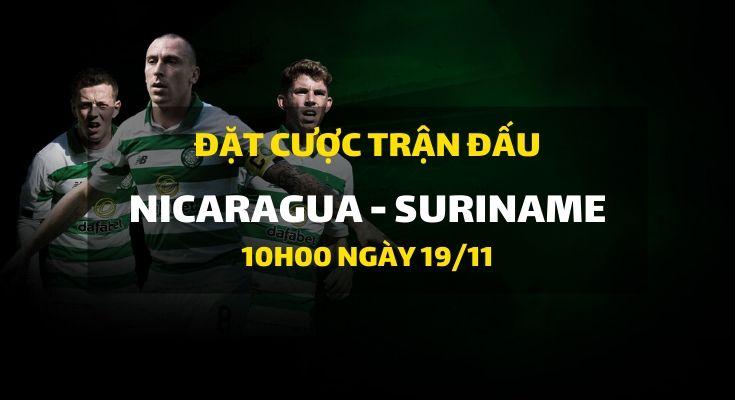 Nicaragua - Suriname (10h00 ngày 19/11)