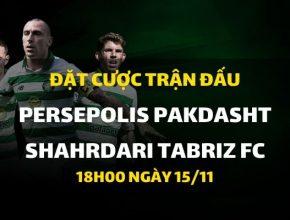 Persepolis Pakdasht - Shahrdari Tabriz FC (18h00 ngày 15/11)