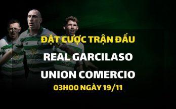 Real Garcilaso - Union Comercio (03h00 ngày 19/11)